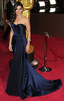 HOLLYWOOD, LOS ANGELES, CA, USA - MARCH 02: Sandra Bullock at the 86th Annual Academy Awards held at Dolby Theatre on March 2, 2014 in Hollywood, Los Angeles, California, United States. (Photo by Xavier Collin/Celebrity Monitor)