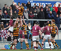CAI vs RBAI | Tuesday 3rd March 2015<br /> <br /> Mark Maris during the 2015 Ulster Schools Cup Semi-Final between Coleraine Inst and RBAI at the Kingspan Stadium, Ravenhill Park, Belfast, Northern Ireland.<br /> <br /> Picture credit: John Dickson / DICKSONDIGITAL