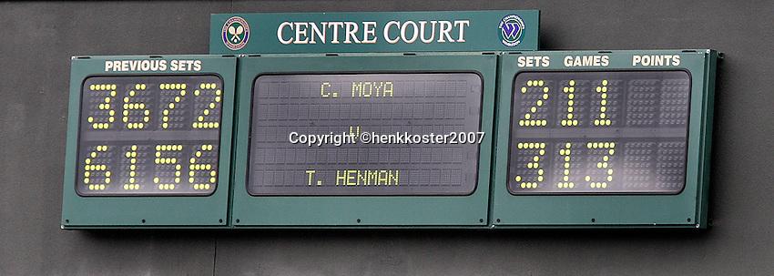 26-6-07,England, Wimbldon, Tennis, Henman wins 13-11 in the fifth!