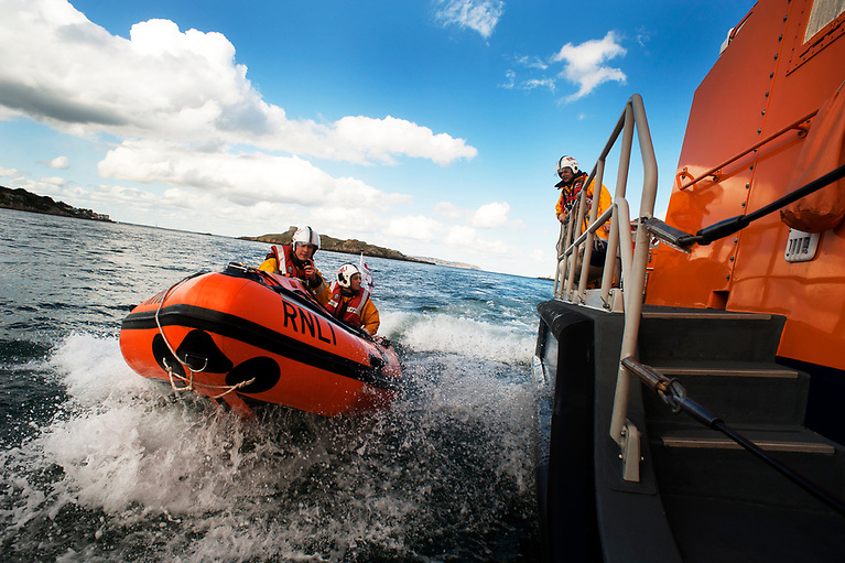 Dun Laoghaire Harbour RNLI features in Saving Lives at Sea