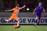 Gent's defender Heleen Jacques (4) pictured during a female soccer game between RSC Anderlecht Dames and AA Gent Ladies on the seventh matchday of the 2020 - 2021 season of Belgian Womens Super League , friday 13 th of November 2020  in Overijse , Belgium . PHOTO SPORTPIX.BE | SPP | STIJN AUDOOREN