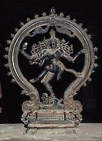 Statue im Sri Meenakshi Tempelmuseum, Indien, Madurai