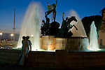 Raíces Fountain, Old San Juan Historic District, Puerto Rico<br /> <br /> Canon EOS-1Ds Mark II, EF24-70mm lens, f/5.6 for 1/10 second, ISO 640