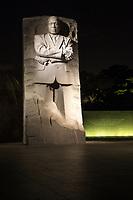 Martin Luther King Jr Memorial, Washington DC, USA.