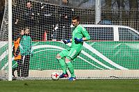 Torwart Markus Schubert (Deutschland, Dynamo Dresden) - 25.03.2017: U19 Deutschland vs. Serbien, Sportpark Kelsterbach