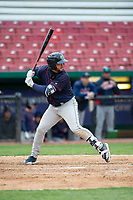 Cedar Rapids Kernels first baseman Chris Williams (32) during a Midwest League game against the Kane County Cougars at Northwestern Medicine Field on April 28, 2019 in Geneva, Illinois. Cedar Rapids defeated Kane County 3-2 in game two of a doubleheader. (Zachary Lucy/Four Seam Images)