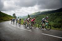 Christopher Juul-Jensen (DEN/BikeExchange) & co up the Col de Port<br /> <br /> Stage 16 from El Pas de la Casa to Saint-Gaudens (169km)<br /> 108th Tour de France 2021 (2.UWT)<br /> <br /> ©kramon