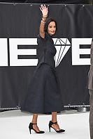 """Lady Shakira Caine<br /> at the World Premiere of  """"King of Thieves"""", Vue Cinema Leicester Square, London<br /> <br /> ©Ash Knotek  D3429  12/09/2018"""