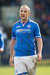 Raith Rovers v St Johnstone....08.03.14    Scottish Cup Quarter Final<br /> Lee Croft<br /> Picture by Graeme Hart.<br /> Copyright Perthshire Picture Agency<br /> Tel: 01738 623350  Mobile: 07990 594431