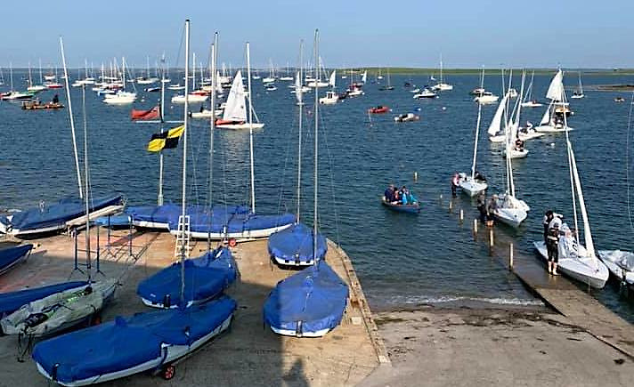 Light winds prevail at Strangford Lough Yacht Club