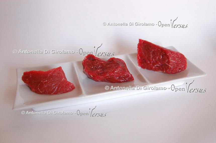 Filetto di manzo. Fillet of beef...