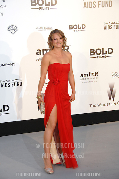 Zoe Bell at amfAR's Cinema Against AIDS 2007 Gala at Le Moulin de Mougins restaurant just outside Cannes. .May 23, 2007  Cannes, France..© 2007 Paul Smith / Featureflash