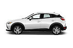 Car Driver side profile view of a 2017 Mazda CX-3 Touring-AWD 5 Door SUV Side View