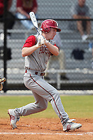 Indiana Hoosiers TC Knipp #6 during a game vs UMass at Lake Myrtle Main Field in Auburndale, Florida;  March 16, 2011.  Indiana defeated UMass 11-10.  Photo By Mike Janes/Four Seam Images