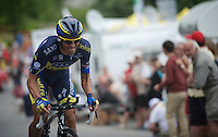 Alberto Contador (ESP)<br /> <br /> Tour de France 2013<br /> stage 17: ITT Embrun - Chorges 32km