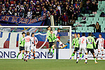 Jeonbuk Hyundai Motors vs FC Tokyo during their 2016 AFC Champions League Group E match on February 23, 2016 at the Jeonju World Cup Stadium in Jeonju, South Korea. Photo by Lee Jae-Won / Power Sport Images
