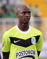 BOGOTA-COLOMBIA-20-04-2013. John Valdy  jugador del Atlético Nacional. Photo / VizzorImage / Felipe Caicedo / Staff . John Valdy  player of Atletico Nacional. ( Photo / VizzorImage / Felipe Caicedo / Staff).