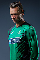 Pictured: Erwin Mulder. Thursday 29 August 2018<br />Re: Swansea City FC player and staff profile photo-shoot at Fairwood Training Ground, Wales, UK