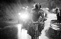 Sep Vanmarcke (BEL/LottoNL-Jumbo) riding strong up the superwet  Plateau de Beille (HC/15.8km/7.9%/1780m)<br /> <br /> stage 12: Lannemezan - Plateau de Beille (195km)<br /> 2015 Tour de France