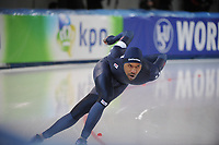 SPEEDSKATING: STAVANGER: 18-11-2017, Sørmarka Arena, ISU World Cup, Shani Davis (USA), ©photo Martin de Jong