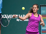 April 8,2017:  Daria Kasatkina (RUS) defeated Laura Siegemund (GER) 3-6, 6-2, 6-1, at the Volvo Car Open being played at Family Circle Tennis Center in Charleston, South Carolina.  ©Leslie Billman/Tennisclix/Cal Sport Media