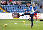 Ross County v St Johnstone…31.07.21  Global Energy Stadium<br />Murray Davidson pictured during the warm-up<br />Picture by Graeme Hart.<br />Copyright Perthshire Picture Agency<br />Tel: 01738 623350  Mobile: 07990 594431