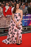 "Zoe Kazan<br /> arriving for the London Film Festival screening of ""The Ballad of Buster Scruggs"" at the Cineworld Leicester Square, London<br /> <br /> ©Ash Knotek  D3438  12/10/2018"