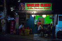 Bali, Indonesia.  Mexican Fast Food Shop, Jimbaran.