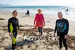 After a swim in Ballyheigue on Thursday, l to r: Caroline Conroy, Helen O'Riordan and Bernie Sherlock.