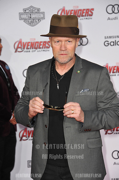 """Michael Rooker at the world premiere of """"Avengers: Age of Ultron"""" at the Dolby Theatre, Hollywood.<br /> April 13, 2015  Los Angeles, CA<br /> Picture: Paul Smith / Featureflash"""