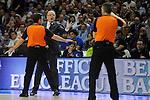 Anadolu Efes´s coach Dusan Ivkovic during 2014-15 Euroleague Basketball Playoffs match between Real Madrid and Anadolu Efes at Palacio de los Deportes stadium in Madrid, Spain. April 15, 2015. (ALTERPHOTOS/Luis Fernandez)