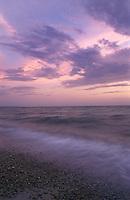 Sea, sky and surf. Cape Cod, MA, Massachusetts.