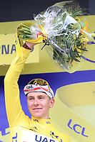 3rd July 2021; Oyonnax, Auvergne-Rhône-Alpes, France; TOUR DE FRANCE 2021 UCI Cycling World Tour Stage 8  from Oyonnax to Le Grand Bornand; . <br /> Tadej Pogacar Slovenia Uae Team Emirates