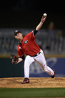 Georgia Bulldogs relief pitcher Addison Albright in action against the Charlotte 49ers at BB&T Ballpark on March 8, 2016 in Charlotte, North Carolina. The 49ers defeated the Bulldogs 15-4. (Brian Westerholt/Four Seam Images)