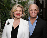 Debra Monk and Scott Ellis during The New York Gilbert and Sullivan Players honor Composer Rupert Holmes at the Players Club on June 12, 2019 in New York City.
