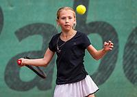 Hilversum, Netherlands, August 9, 2017, National Junior Championships, NJK, Charlotte Pikkaart<br /> Photo: Tennisimages/Henk Koster