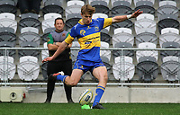 Cameron Miller of Taieri during the Dunedin Premier club rugby final between Green Island and Taieri played at Forsyth Barr Stadium in Dunedin, on Saturday 31st July, 2021. © John Caswell/Caswell Images