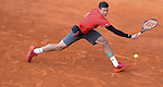 Milos Raonic (CAN) defeats Yen Hsun Lu (TPE) 6-2, 6-1 at the Monte Carlo Rolex Masters tournament in Monte Carlo, Monaco on April 17, 2014.
