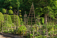 """Les jardins du prieuré d'Orsan : """"le jardin des simples""""<br /> <br /> Mention obligatoire du nom du jardin et pas d'usage publicitaire sans autorisation préalable."""