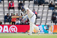 Shubman Gill of India pushes into the on side during India vs New Zealand, ICC World Test Championship Final Cricket at The Hampshire Bowl on 22nd June 2021
