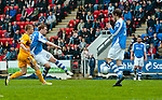 St Johnstone v Motherwell.....19.05.13      SPL.Liam Craig scores his goal.Picture by Graeme Hart..Copyright Perthshire Picture Agency.Tel: 01738 623350  Mobile: 07990 594431