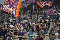 jubelnde Fans der Frankfurt Galaxy