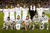 LA Galaxy starting eleven. The LA Galaxy defeated Chivas USA 1-0 to win the final edition of the 2009 SuperClásico at Home Depot Center stadium in Carson, California on Saturday, August 29, 2009...