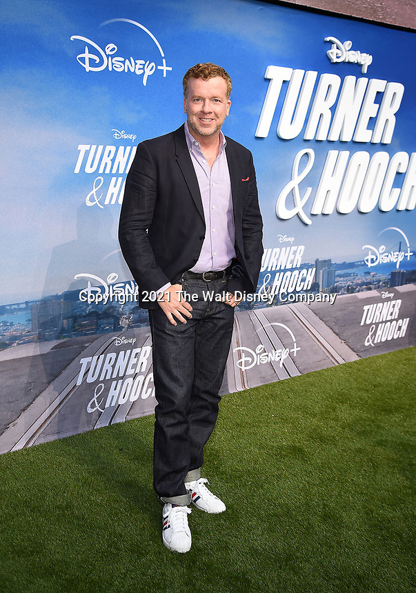 """LOS ANGELES, CA - JULY 15: Executive Producer McG attends a premiere event for the Disney+ original series """"Turner & Hooch"""" at Westfield Century City on July 15, 2021 in Los Angeles, California. (Photo by Frank Micelotta/Disney+/PictureGroup)"""