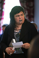 MP Nanaia Mahuta. New Zealand Prime Minister Jacinda Ardern's government is sworn in for a second term at Government House in Wellington, New Zealand on Friday, November 6, 2020. Photo: Dave Lintott / lintottphoto.co.nz