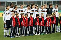 Deutsche Nationalmannschaft<br /> Deutschland vs. Finnland, U19-Junioren<br /> *** Local Caption *** Foto ist honorarpflichtig! zzgl. gesetzl. MwSt. Auf Anfrage in hoeherer Qualitaet/Aufloesung. Belegexemplar an: Marc Schueler, Am Ziegelfalltor 4, 64625 Bensheim, Tel. +49 (0) 151 11 65 49 88, www.gameday-mediaservices.de. Email: marc.schueler@gameday-mediaservices.de, Bankverbindung: Volksbank Bergstrasse, Kto.: 151297, BLZ: 50960101
