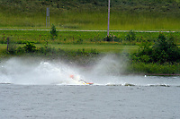 Frame 14: 30-H, 44-S spins out in turn 2   (Outboard Hydroplanes)   (Saturday)