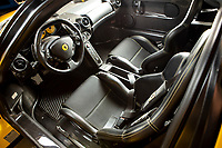 BNPS.co.uk (01202 558833)<br /> Pic: Bonhams/BNPS<br /> <br /> Sold for £2.53 million - 2003 Ferrari Enzo<br /> <br /> Super-rare Lambo leads incredible sell off an African vice presidents seized car collection.<br /> <br /> The State of Geneva impounded the 24 motors over a financial irregularity court case in 2016 and Bonhams sold off the sparkling collection for a whopping £20 million this weekend.<br /> <br /> An ultra-rare Lamborghini supercar has sold at auction for a world-record price of £6,760,000.<br /> <br /> The Veneno Roadster was one of only nine examples to be built in 2014 and was owned from new by the vice president of Equatorial Guinea.<br /> <br /> Teodorin Obiang Nguema kept the motor for two years before it was seized by Swiss authorities as part of a financial wrongdoing case.