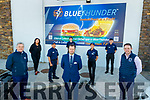 Liam Hogan, Joanne Byrne, Dante De Guzmin, Cian Morgan, Sean Hennessy (Store Manager), Gosia Rusak, Daniel Fok-Seang and Mark Henry, at the opening of Blue Thunder food outlet in Corrib oil service station in Tralee.