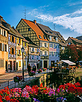 France, Alsace, Haut-Rhin, Colmar: Petite Venise (Little Venice) | Frankreich, Elsass, Haut-Rhin, Colmar: Petite Venise (Klein Venedig)